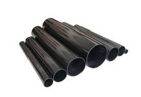 Black pipes on white background