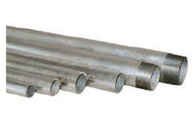 Medium galvanised pipe