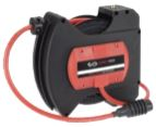 red adjustable retractable air hose