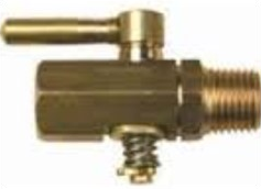 M/F BRASS LEVER TAP